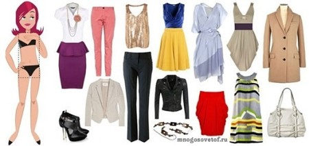 Подбор одежды по типу фигуры прямоугольник