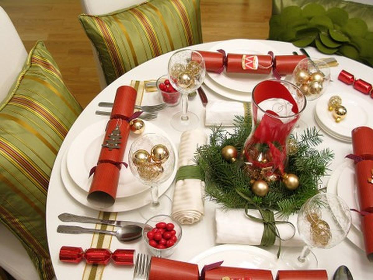 Украшения стола своими руками к новому году