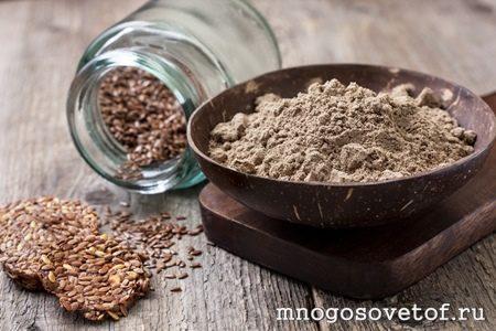 Полезные продукты для кожи лица. Семена льна