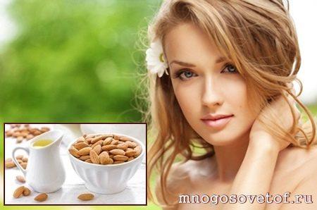 Полезные продукты для кожи лица. Миндаль