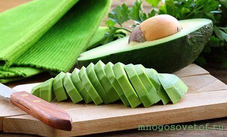 Полезные продукты для красивой и здоровой кожи лица. Авокадо