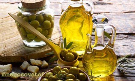 Полезные продукты для красивой и здоровой кожи лица. Оливковое масло.