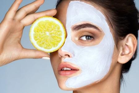 Маска с лимоном для жирной кожи